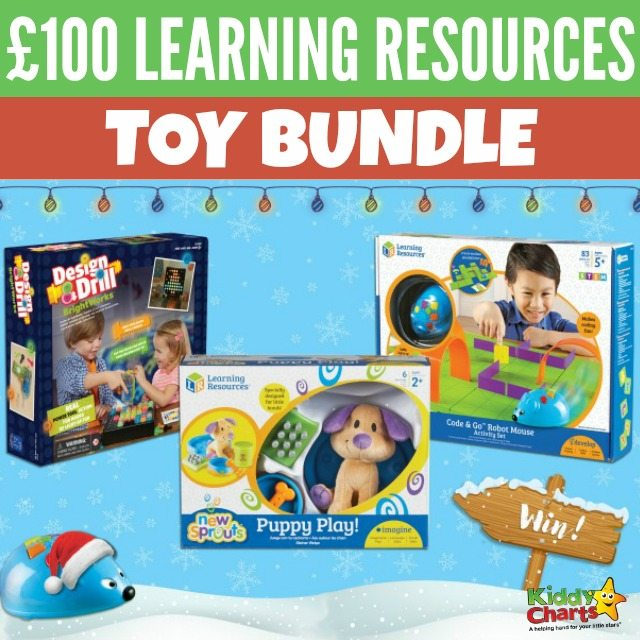 £100 Learning Resources toy bundle