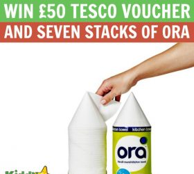 £50 Tesco voucher and seven stacks of Ora