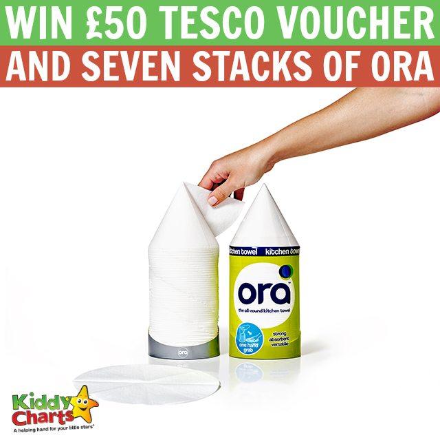 50 tesco voucher and seven stacks of ora