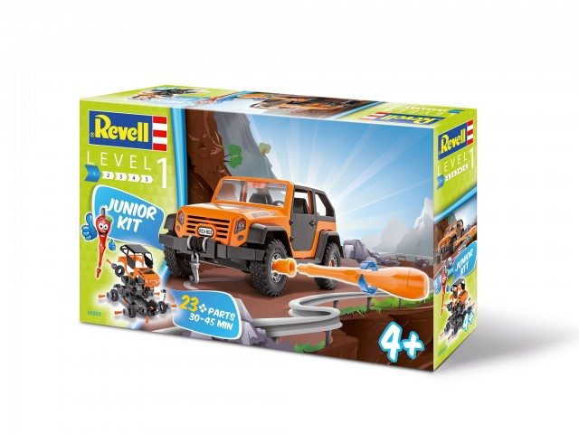 We have a great giveaway for you - win a Revell Junior off road kit for your kids with us. Closes 19th May.
