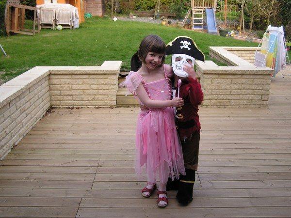 Odd couples: Garden pirates and princesses