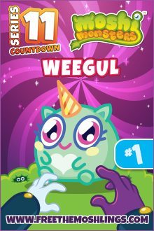 Moshi Monsters Series 11: Weegul