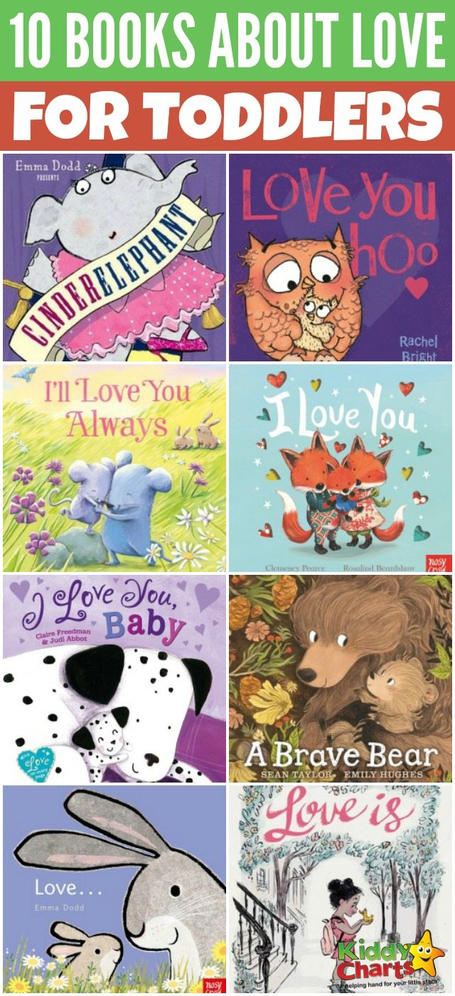 10 lovely books about love for toddlers