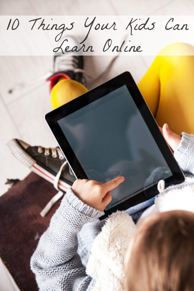 Having Kids online is part of everyday life now - but there are plenty of whats they can learn with technology; here are some of the great ways a kid can learn