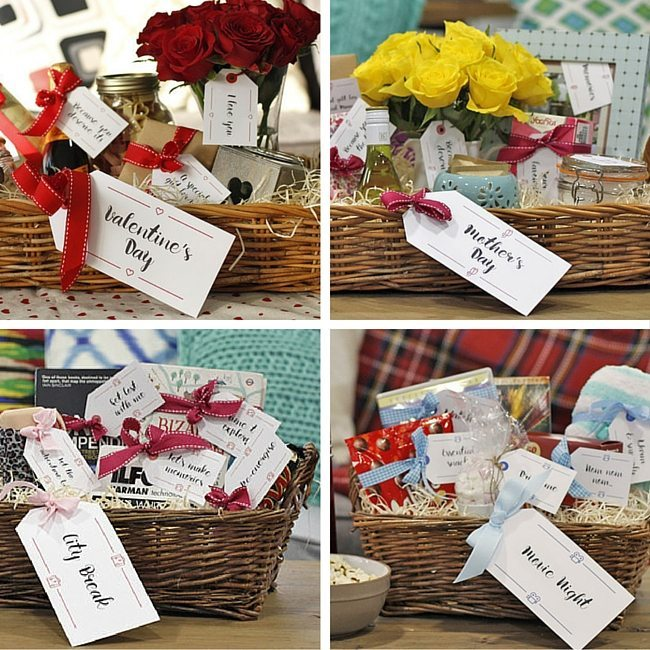 10 free sets of printable hamper gift tags