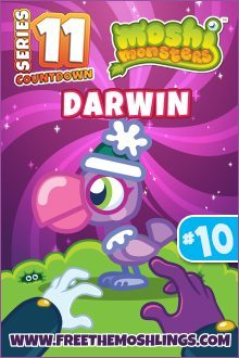 Moshi Monsters Series 11: Darwin