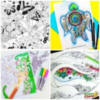 100+ Mindful adult coloring pages to chill out with