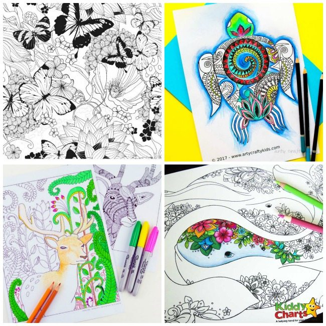 100+ Free Coloring Pages for Adults