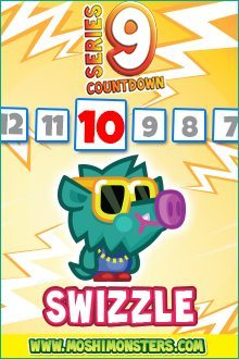 Moshi Monsters Series 9: Swizzle