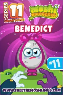 Moshi Monsters Series 11: Benedict