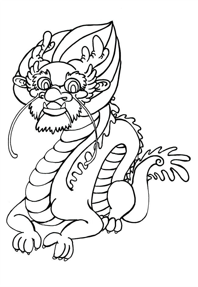 12 zodiac animal colouring pages