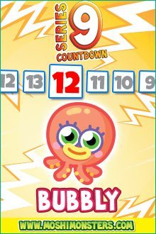 Moshi Monsters Series 9: Bubbly