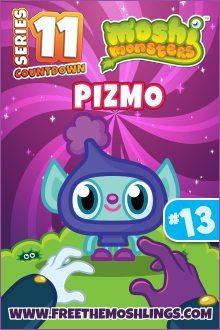 Moshi Monsters Series 11: Pizmo