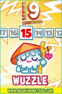Moshi Monsters Series 9: Wuzzle
