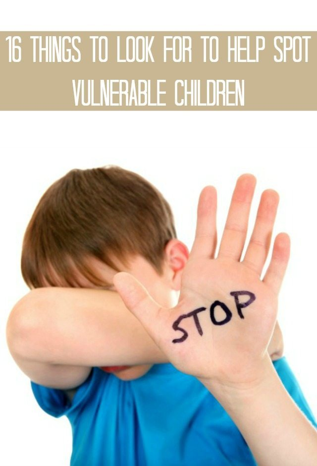 Do you work with vulnerable children, or children generally, and need to know the signs that there is something going on at home that they perhaps need help with? For teachers, carers,and friends, we have some key things to look for in children to spot child abuse. It isn't a pleasant subject, but sadly spotting the sign of chid abuse are important for many child professionals.