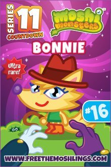 moshi monsters series 11: Bonnie
