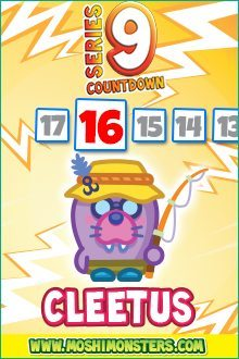 Moshi Monsters Series 9: Cleetus