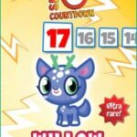 Moshi Monster Series 9 Countdown #1: Hiding from those red-nosed reindeer is…Willow
