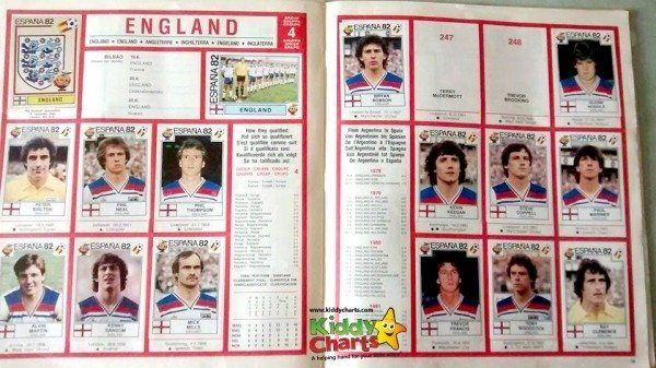 Sticker Albums: World Cup 1982