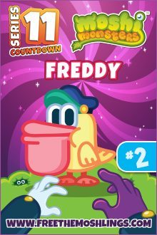 Moshi Monsters Series 11: Freddie