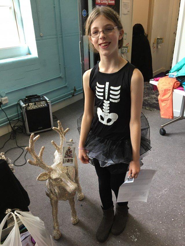 The skeleton meets the reindeer...