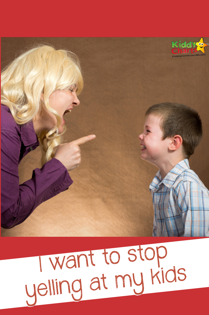 Do YOU want to stop yelling at your kids? We've got some ideas to help you - come along and check them out! #childbehavior #kids #parenting #discipline