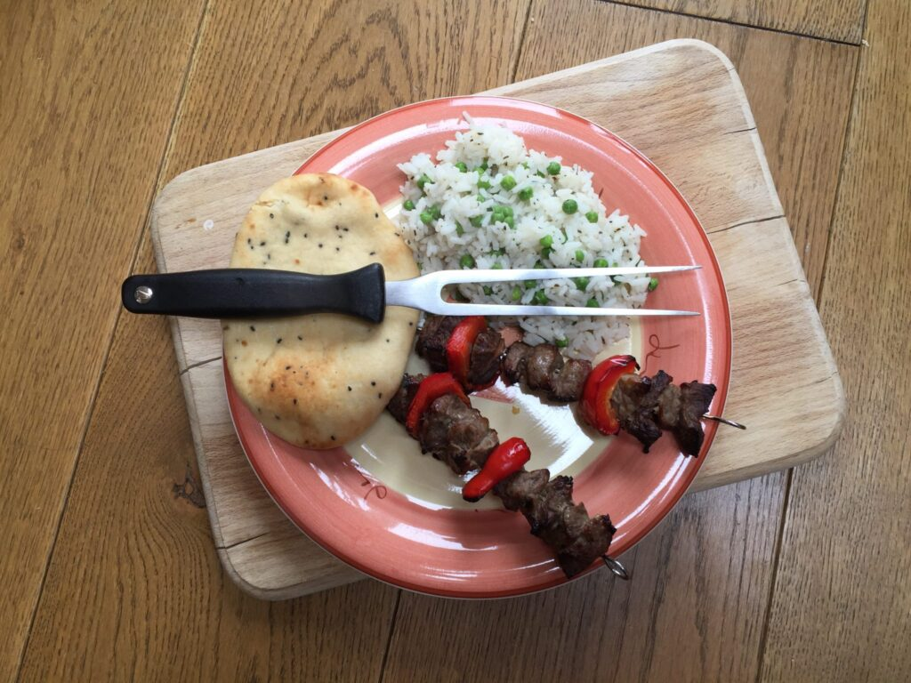 Good things come to those that wait - give your meat time to marinade and these honey glazed kebabs will go down a treat with the kids!