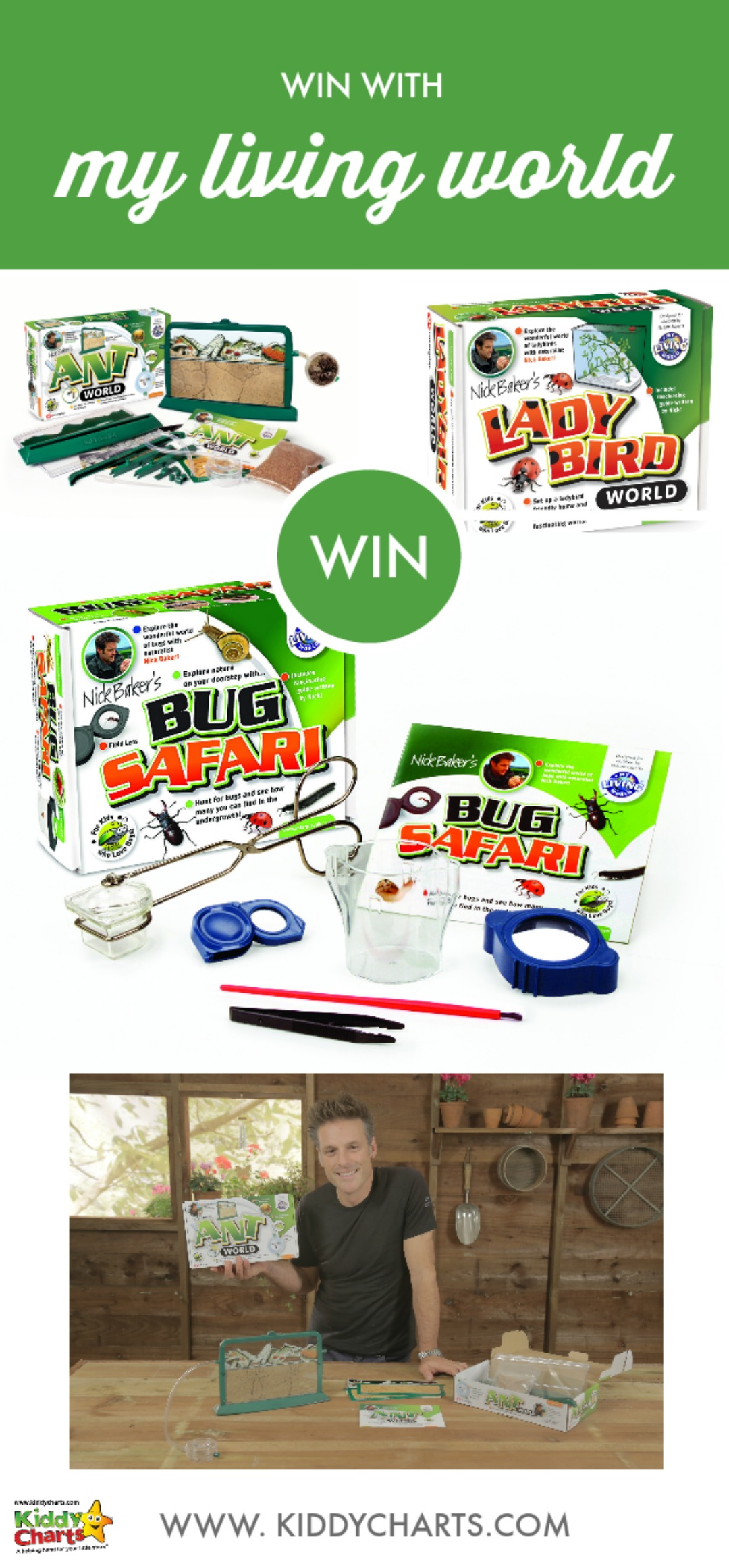 Win a bundle of My Living World goodies.