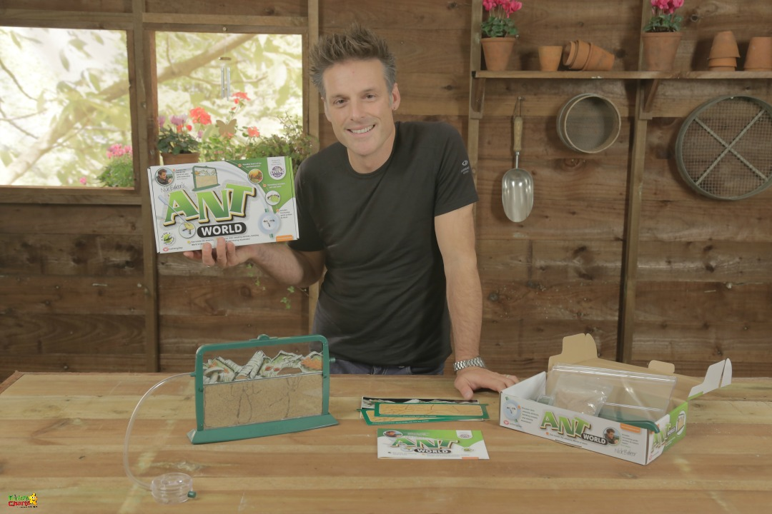 Nick Baker launches 30daysWild, and we are giving away NINE My Living World goodies to help!