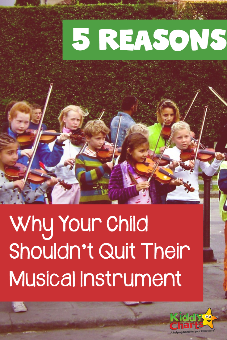 5 Reasons why your child shouldn't quit their musical instrument