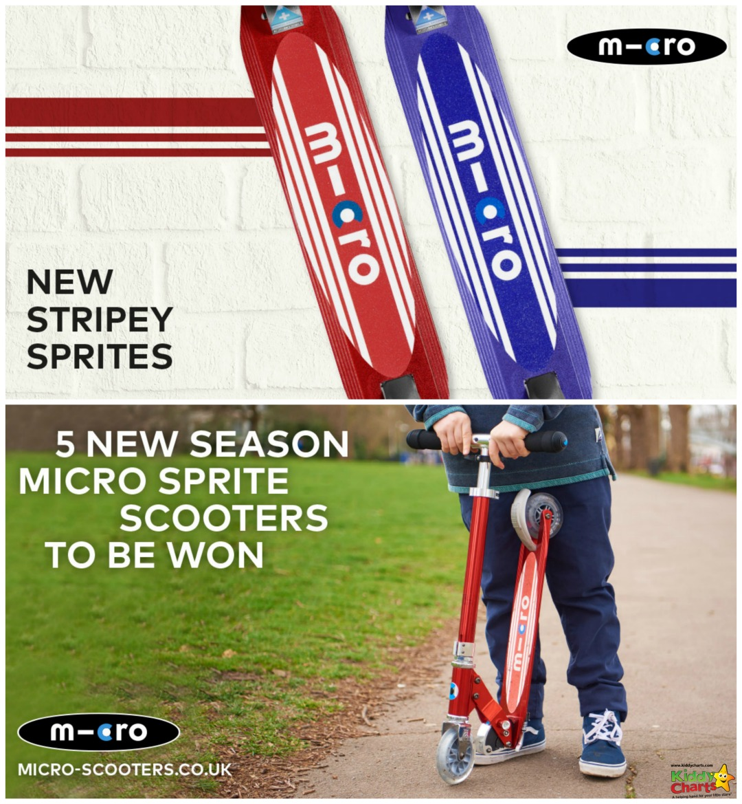 5 New Season Micro Sprites to be won!