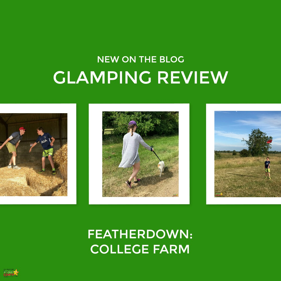 We loved glamping when we did our Featherdown Review - why not go and take a look! #glamping #uk #uktravel