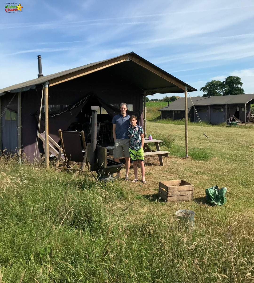 Have you ever done any glamping? This is our Featherdown review and we LOVED it! #glamping #uktravel #kids