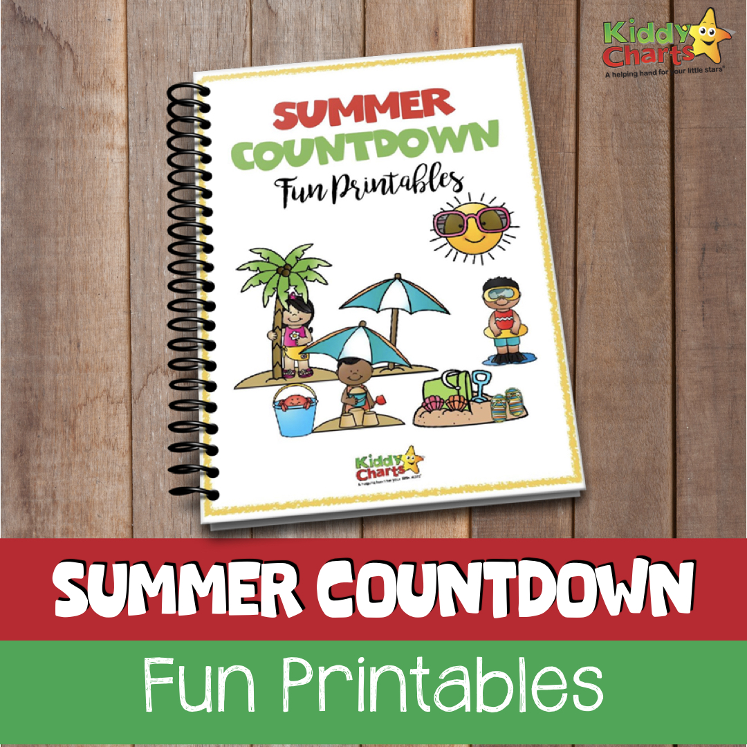 Summer themed activity eBook #KiddyChartsSummer