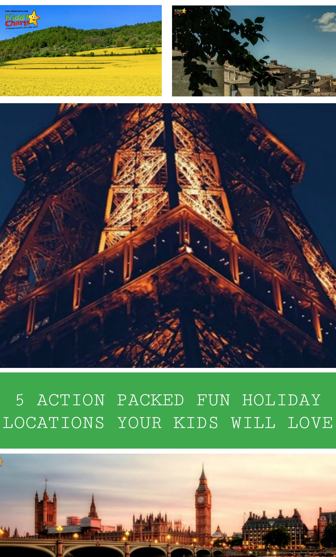 We've got 5 great ideas for holidays with the kids; check them out they might surprise you!
