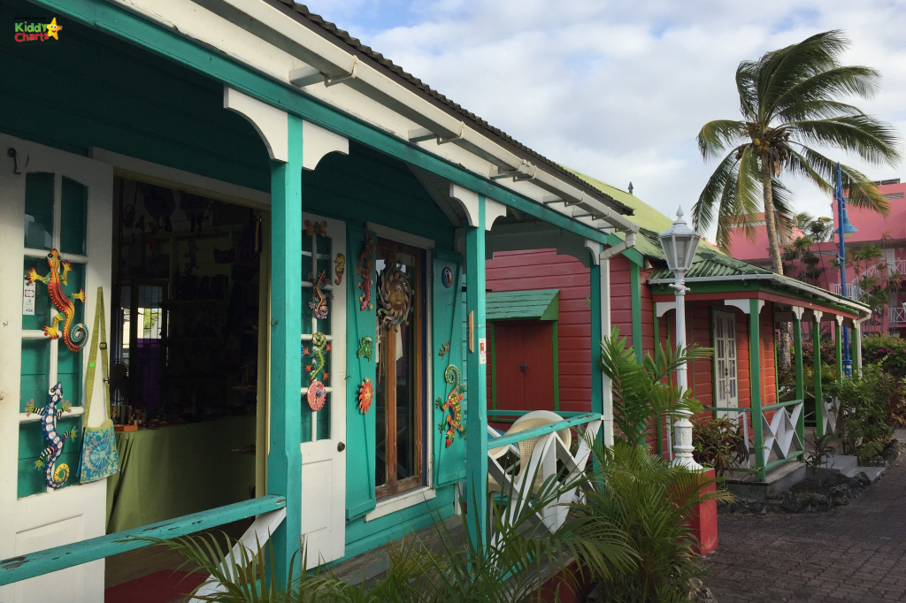 Holetown is a must for going to Barbados with kids - just so many gorgeous Chattel shops! #barbados #kids travel