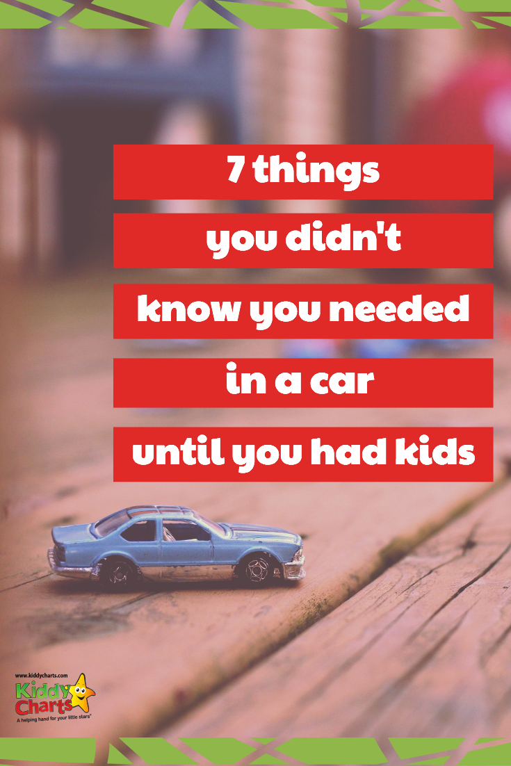 What are those little features that make travelling with kids so much easier in your car - we've got 7 ideas to help keep you sane! #kids #familytravel #cars