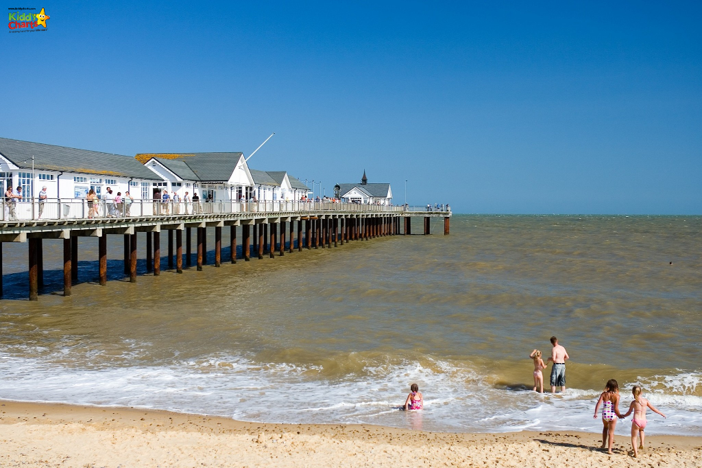 Southwold pier is a great place to visit in Norfolk with kids - check out our other ideas too #norfolk #uk #travel #kidstravel