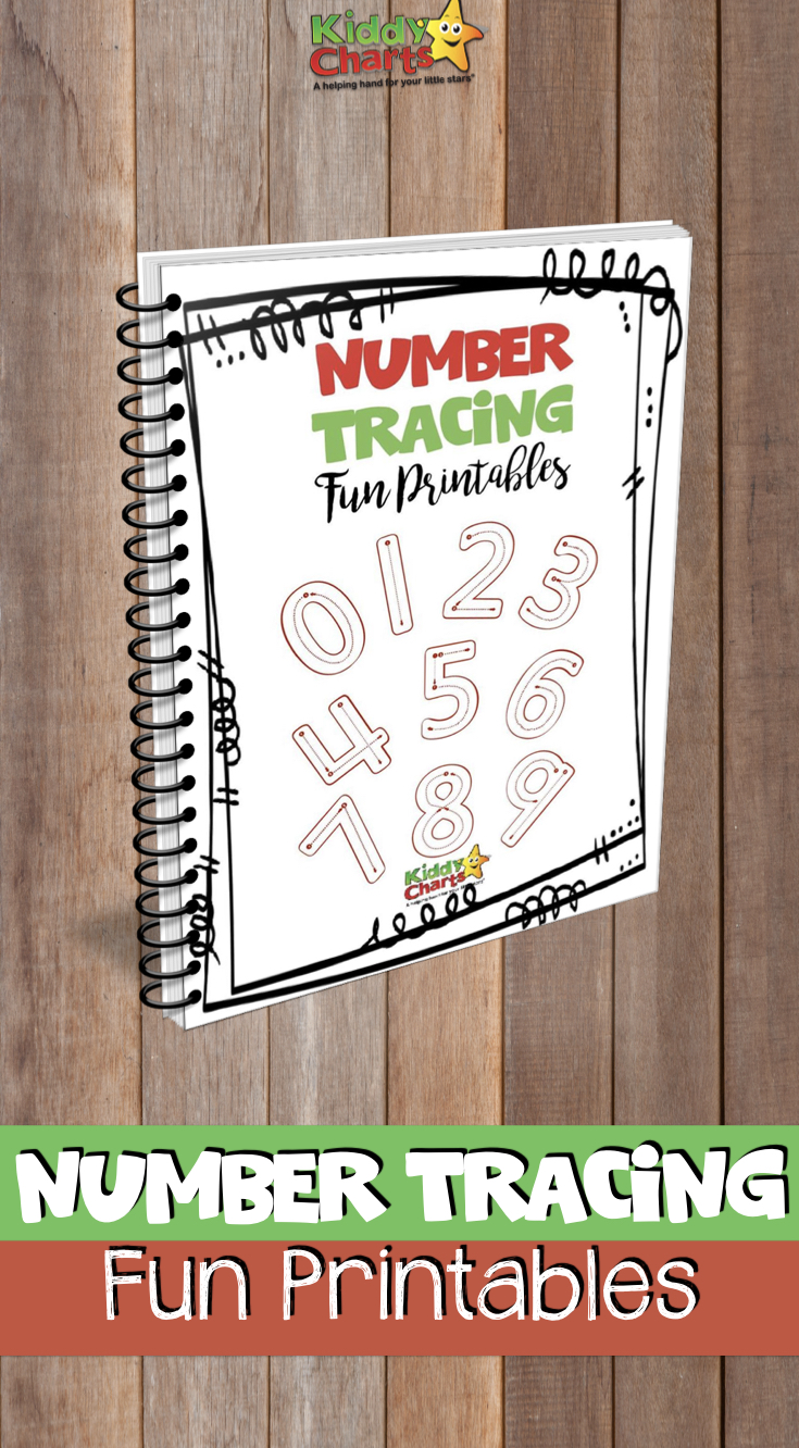 Number tracing for kids is a great activity to help with co-ordination for learning to write - give it a go with our sheets. And they are FREE! #writing #tracing #homeschooling