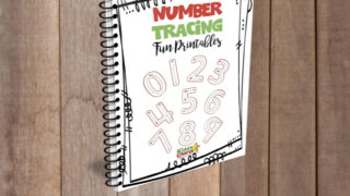 Number tracing for kids