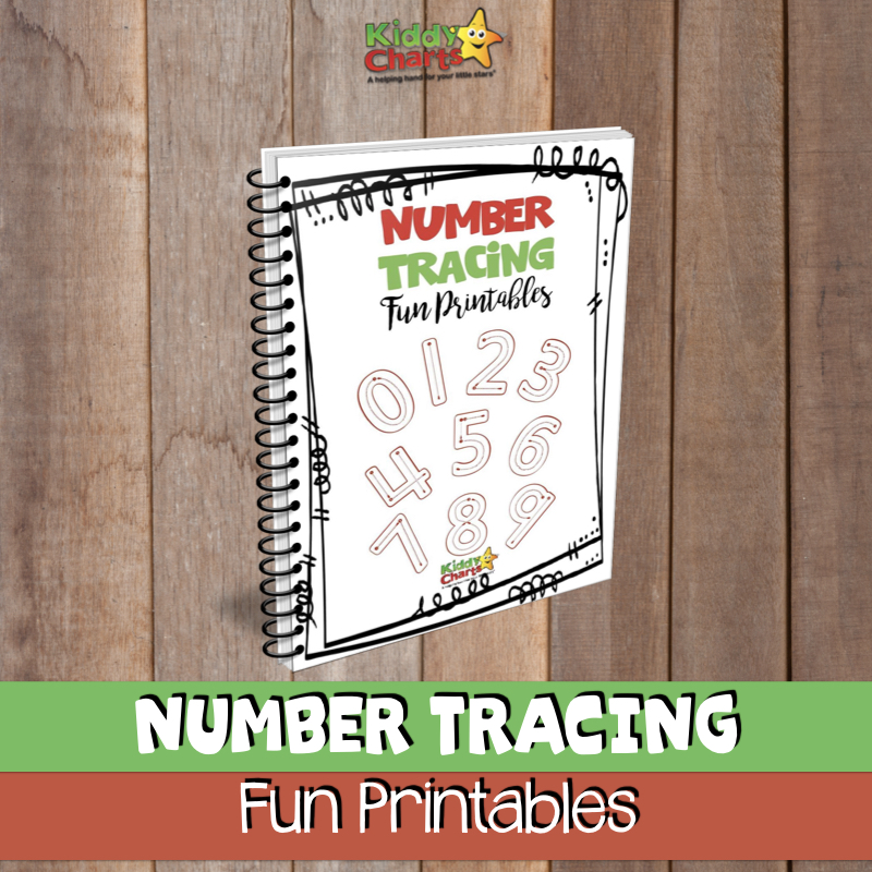 number tracing fun printables free ebook for children