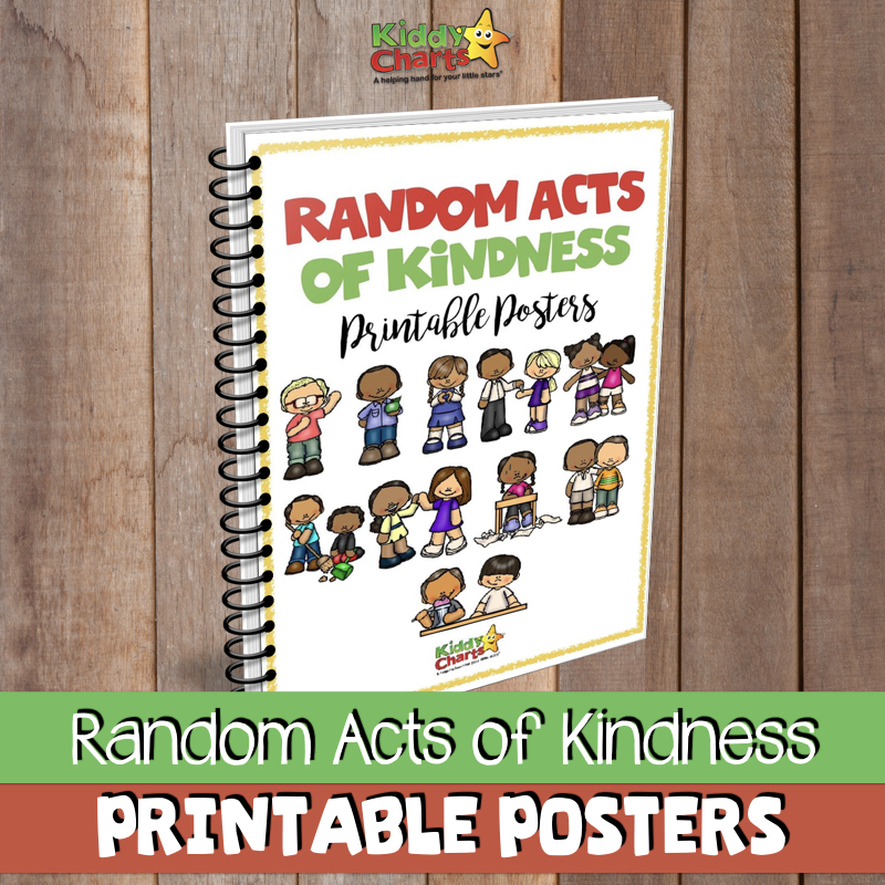 We have some acts of kindness posters for the kids - what IS kindness; these help them to learn #bekind #kindness #roak