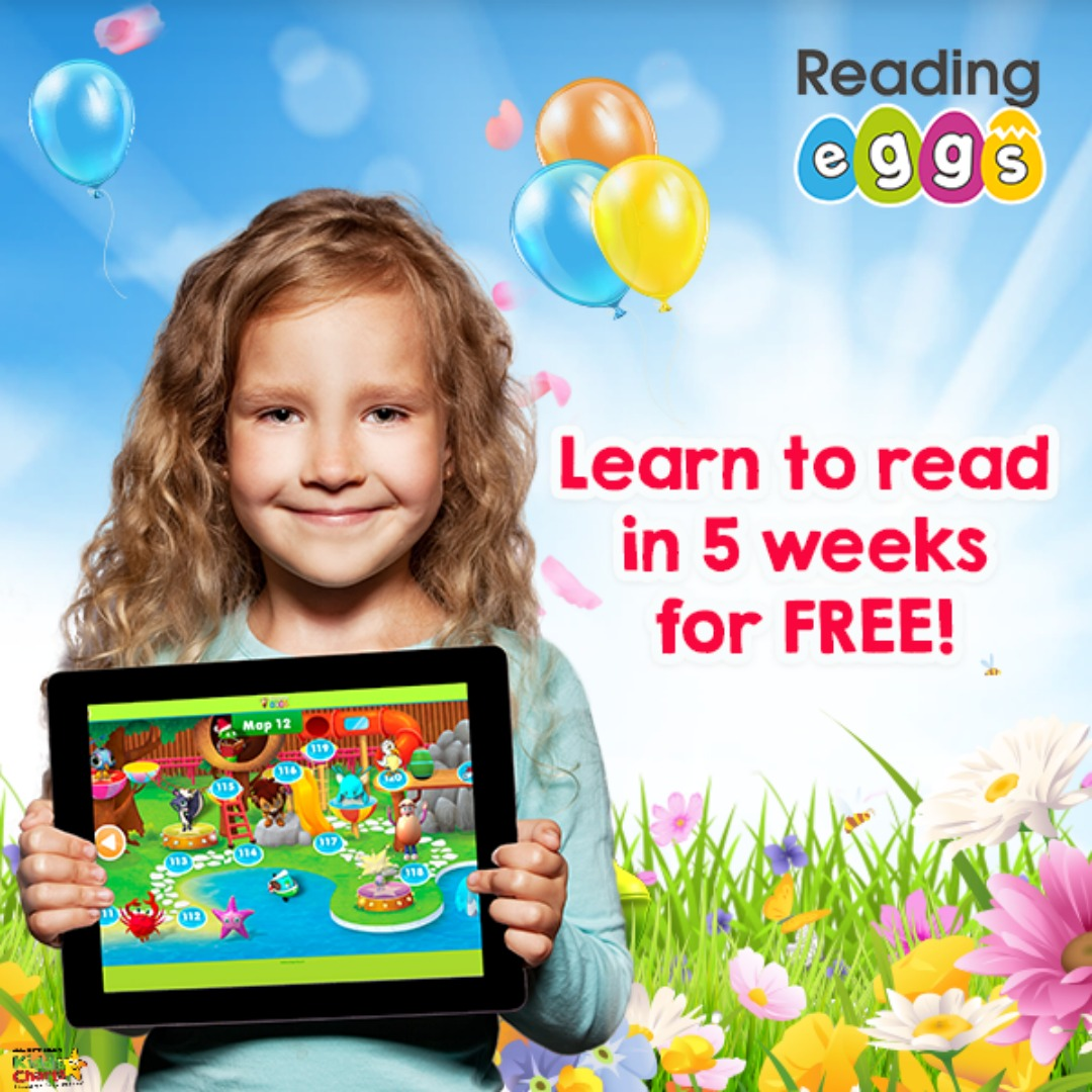 Back to school offer - get 5 weeks free from Reading Eggs and teach the kids to read! Go check out the offer on the site! #backtoschool #offers #reading