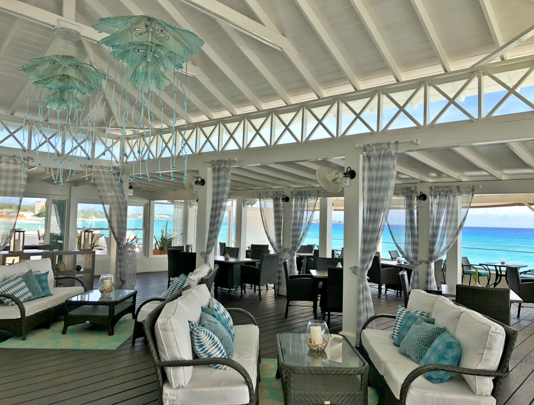 Sea Breeze Beach House Review - the Aquaterra restaurant - just gorgeous