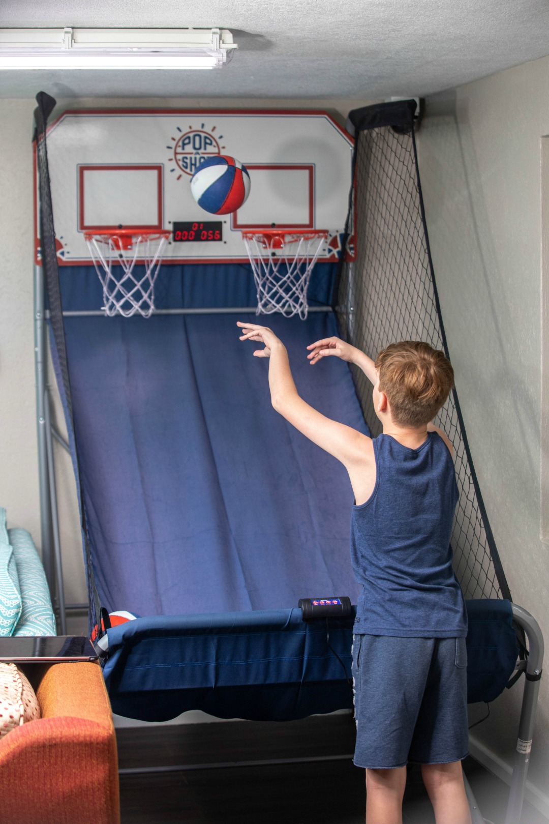 The basketball in the kids club at the Sea Breeze Beach House was great fun for the older kids; loved it! #barbados #caribbean