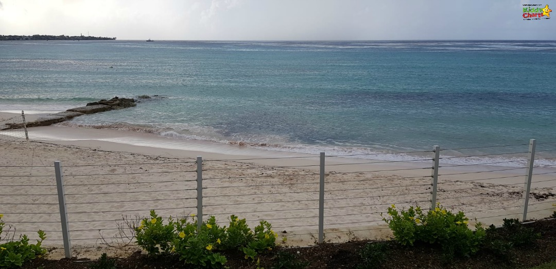 Seabreeze Beach House Review - we could almost touch the beach from our balcony