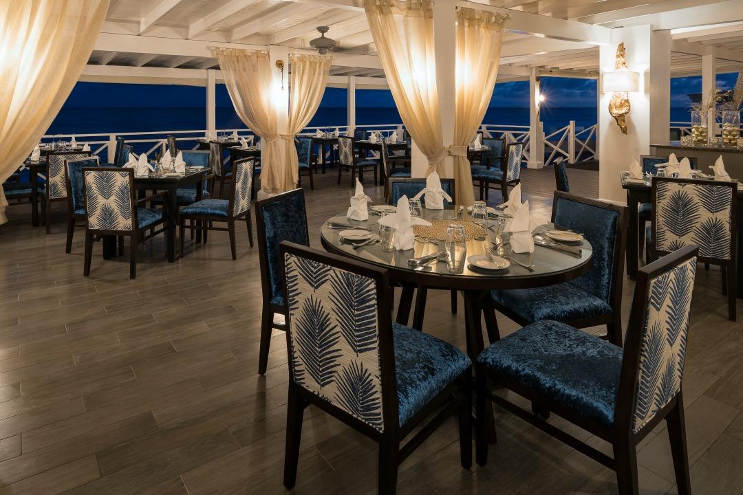 Sea Breeze Beach House review - the gorgeous Cerulean Restaurant