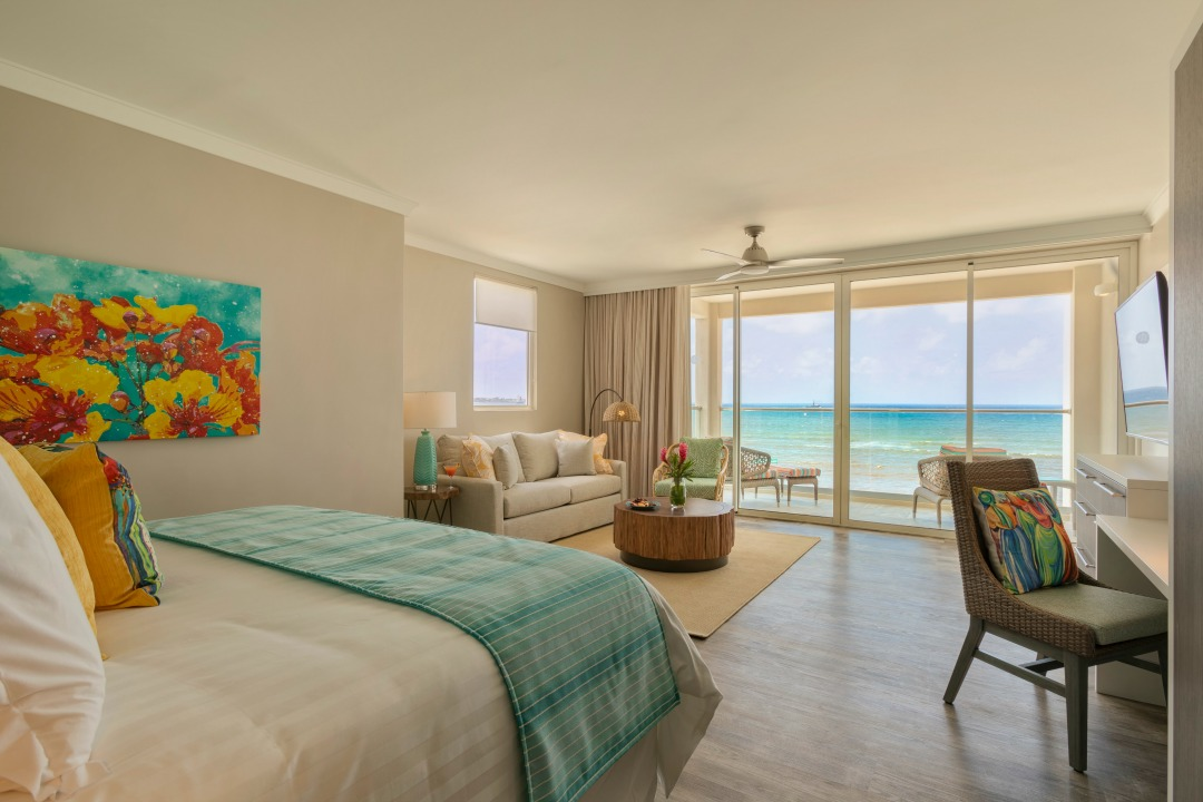 The rooms here are just gorgeous - check out our review of the Sea Breeze Beach House now on the site!