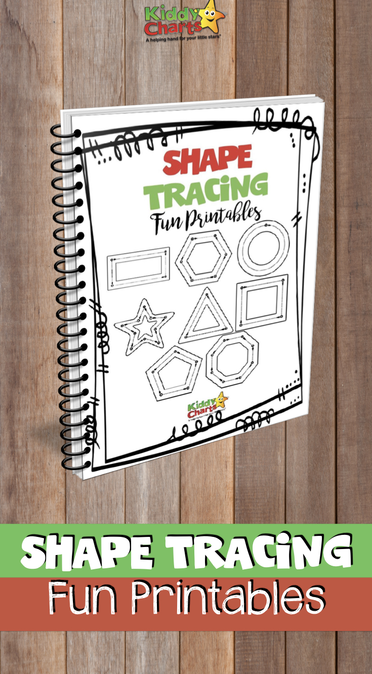 Shape tracing for kids is great for developing skills to aid writing - check these out! #tracing #writing #homeschooling
