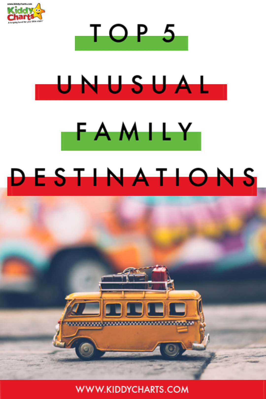 We are sharing FIVE unusual destinations for family travel with week - why don't you check them all out? #familytravel #kidstravel #kids #holidays